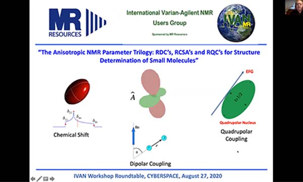 Anisotropic NMR Parameter Trilogy