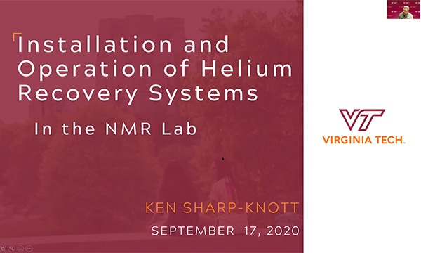 Instalation & Operation of Helium Recovery Systems for NMR Systems