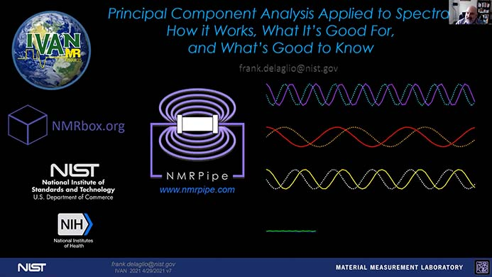 Principal Component Analysis in NMR (PCA)