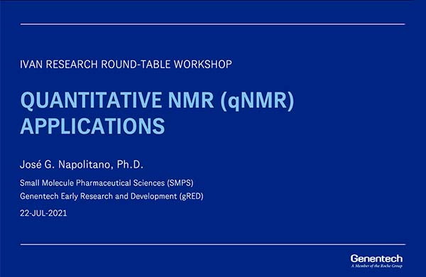 Quantitative NMR Applications (qNMR)